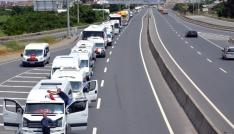 Altınovada 15 Temmuz konvoyu