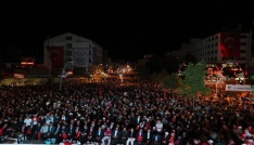 Binlerce kişi Milli Birlik Yürüyüşünde FETÖyü lanetledi