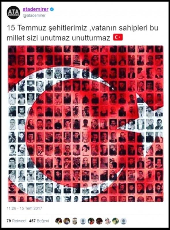 Darbe gecesi zorla bildiri okutulan Tijen Karaş'ın 15 Temmuz Mesajı