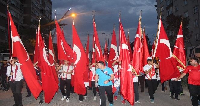 15 Temmuzun 1. yılında Çankırılılar nöbete yürüyüşle başladı