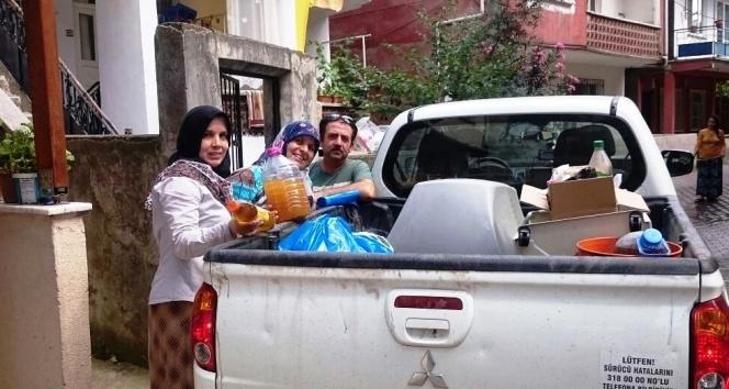 Vatandaşlardan geri dönüşüme destek