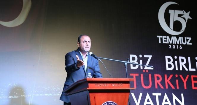 Tuncelide CHPli başkandan PKKya sert tepki