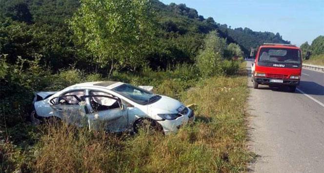 Sakaryada trafik kazası: 2 ölü, 3 yaralı