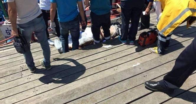 Kocaelide denizde erkek cesedi bulundu