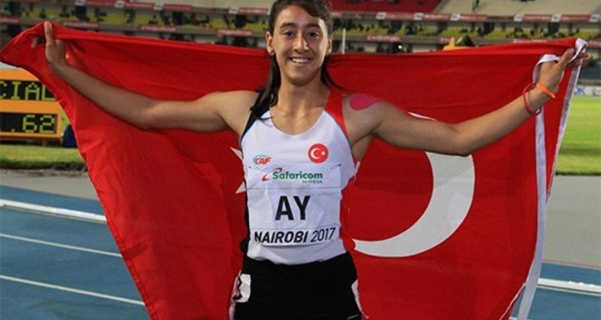 Mizgin Ay, 200 metrede bronz madalya kazandı