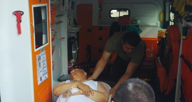 Zonguldakın Ereğli ilçesine bağlı Ormanlı Belde Belediyesi Başkanı Bayram Başol kalp krizi geçirdi