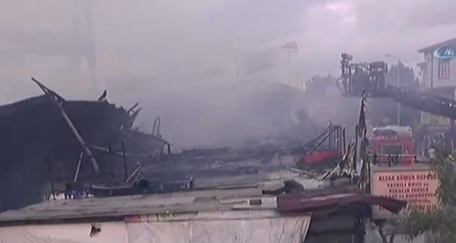 Son dakika haberleri! İstanbulda korkutan yangın