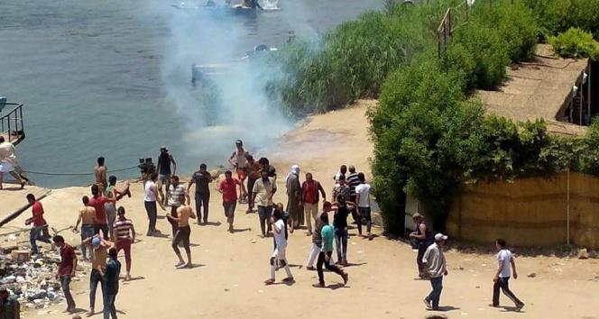 Mısırda çatışma: 1 ölü, 56 yaralı