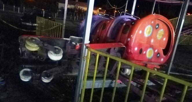 Lunaparkta feci kaza: 1 ölü, 1i ağır 4 yaralı