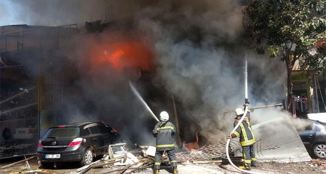 Samsunda dondurma imalathanesinde patlama: 11 yaralı