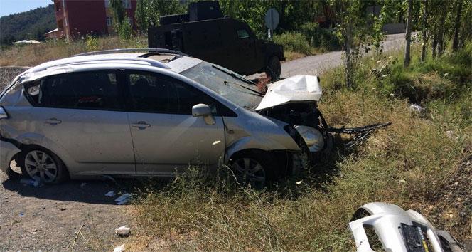 Sivasta trafik kazası: 4 yaralı!