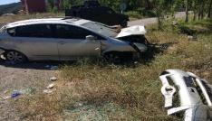 Sivasta trafik kazası: 4 yaralı
