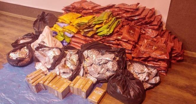 Şanlıurfada 653 kilo kaçak nargile tütünü ele geçirildi
