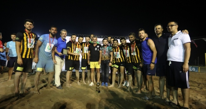 Manavgat Plaj Futbolu sona erdi