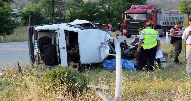 Karabük'te trafik kazası: 1 ölü