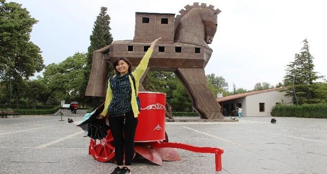 Kore heyetinden Troia'ya ziyaret