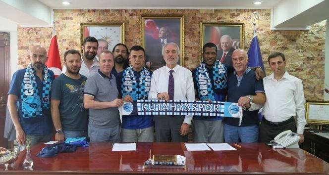 Kütahyaspor 2 yabancı futbolcu ile anlaştı
