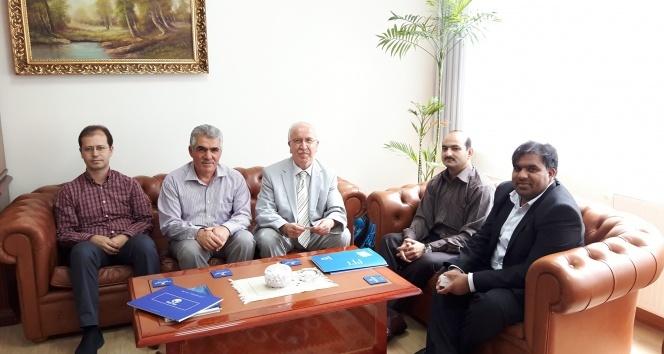 Pakistan Alkhidmat Vakfından İhlas Vakfına ziyaret