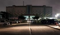 Gana parlamentosunda korkutan yangın