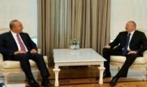 Çavuşoğlu, İlham Aliyev ile görüştü