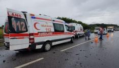 Sakaryada trafik kazası: 6 yaralı