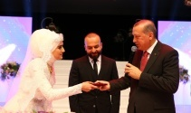 Devletin zirvesi nikah töreninde bir araya geldi