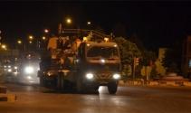Suriye sınırına obüs topu sevkıyatı