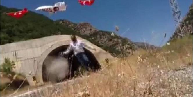 Kato Dağı'na bayrak asan tır şoförüne Pülümür'de kurşun atıldı