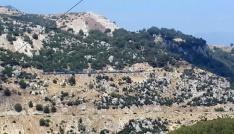 Osmaniyede tren yoluna döşenen bomba patlatıldı