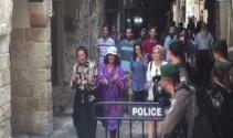Yahudi yerleşimciler, Mescid-i Aksa'ya baskınlarını sürdürüyor