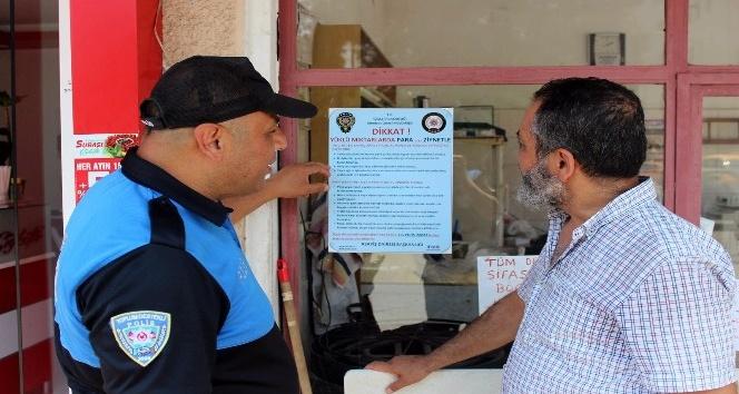 Osmaniye polisinden afişli uyarı