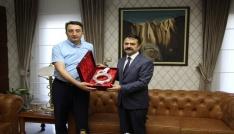 Başsavcı Tosun, Vali Aktaşa veda ziyaretinde bulundu