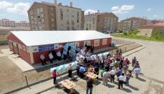 Ilıcaya sosyal donatı alanı ve taziye evi açıldı