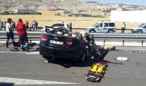 Kayseride trafik kazası: 4 ölü, 2 yaralı