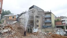 Çömlekçi 2. etap kentsel dönüşüm alanında yıkılan bina sayısı 15e ulaştı