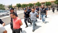 Mersinde suç örgütü operasyonu: 11 gözaltı