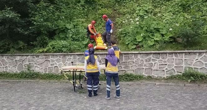 Uzungölde ATV kazası: 1 ölü, 1 yaralı (2)