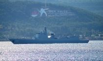 Çin savaş gemileri Boğazdan geçti