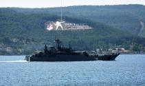 Çin ve Rusya savaş gemileri boğazdan geçti