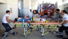 4. kattan düşen inşaat işçisi yaralandı