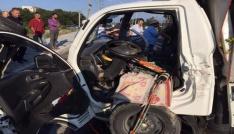 Sakaryada trafik kazası: 3 yaralı