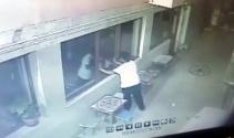 Camiden ayakkabıları çalamayınca çay ocağını soydu