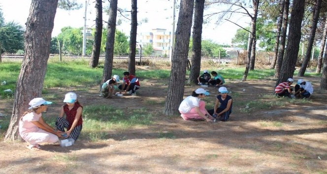 TÜGVAlı öğrenciler sokak hayvanlarını unutmadı