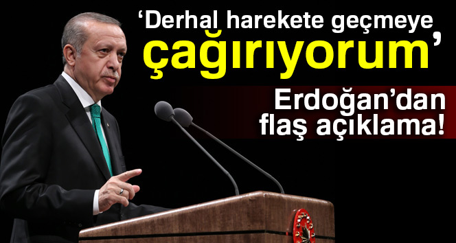 Cumhurbaşkanı Erdoğandan Mescid-i Aksa açıklaması