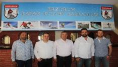 Erzurum Kayak Kulübünde görev değişimi