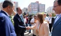 Adalet Bakanı Gülden Şahine ziyaret