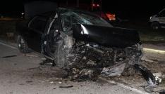 Sarayda Feci Kaza, 1i Ağır 3 Yaralı
