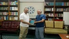 Giresun Üniversitesi Rektörü Çoşkun TYB Erzurum Şubesine ziyaret etti