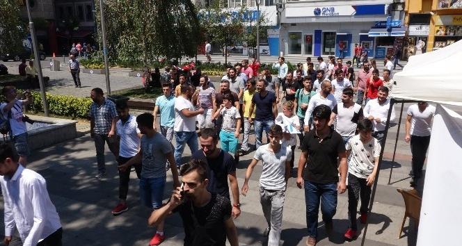 Modifiye tutkunlarının ceza protestosu