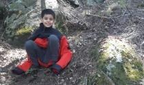 9 yaşındaki çocuk geceyi uçurumun kenarında uyuyarak geçirmiş